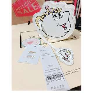 Pazzo x Disney 茶壺太太&杯杯兒子零錢包