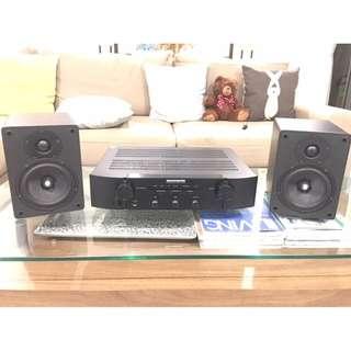 CAMBRIDGE AUDIO SPEAKERS + MARANTZ AMPLIFIER PM5004 + Free Floor standing speakers