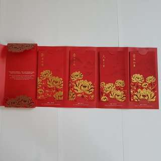 1 set Maybank Premier Wealth Red Packet