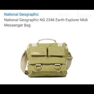 National Geographic NG B 2346 Midi Messenger Bag