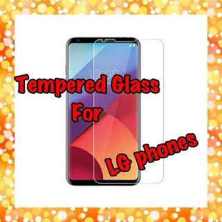 LG Tempered Glass Screen Protectors Collection