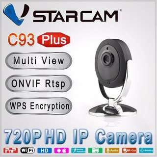 C93 Plus 720P wireless IP camera
