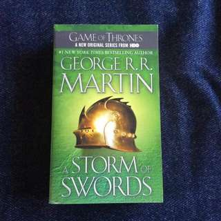 Storm Of Swords (Game Of Thrones/ A Song Of Ice And Fire Series)