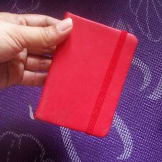 Red Mini Notebook
