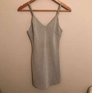 Plain mini dress