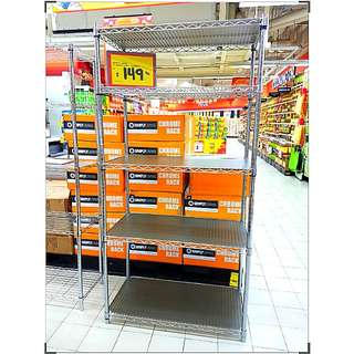 5-Tier Metal Shelf / Chrome Rack - 1 unit left!