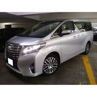 TOYOTA ALPHARD EXECUTIVE LOUNGE 3.5 2015