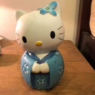 hello kitty 陶瓷娃娃 撲滿 存錢桶