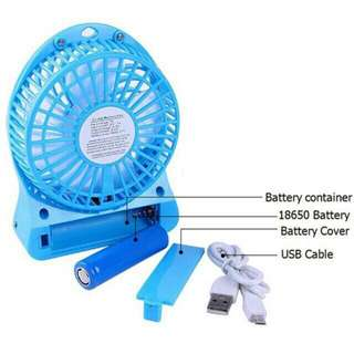 Mini Rechargable Fan