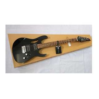 PROMO MURAH GITAR IBANEZ JEM JR BLACK TREMOLO DOWN SERIES