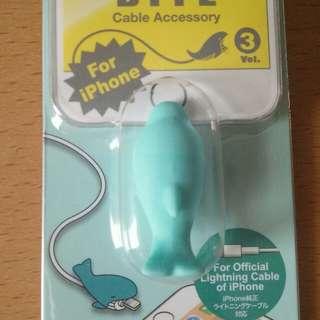 海豚咬咬 iPhone充電線