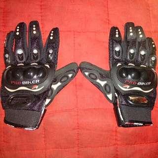 Pro-biker full gloves