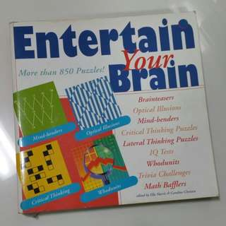 Entertain Your Brain Puzzles Book