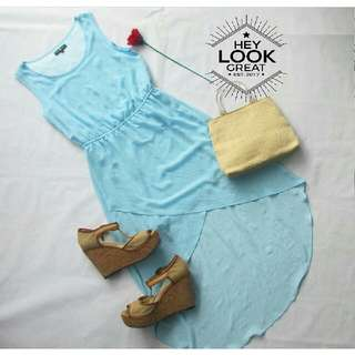17 N - Pastel Blue Summer Dress