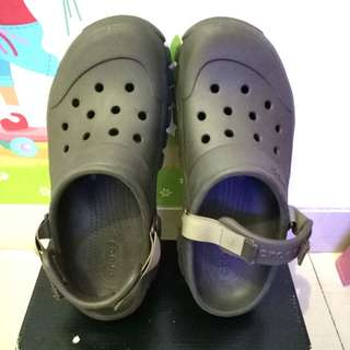Sandal Croc dark brown