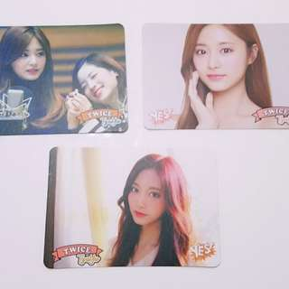 Twice 專輯yes card Tzu Yu 白卡