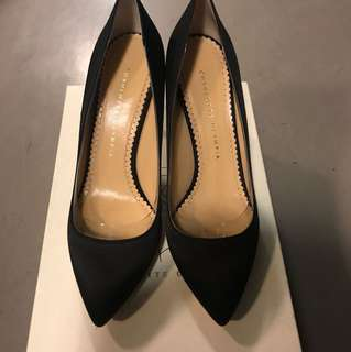 Brand new Charlotte Olympia satin heels 鞋 (shoes)