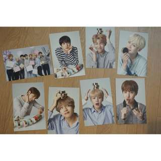 VT x BTS Official Postcards