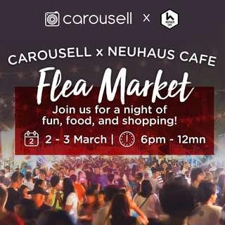 Carousell X Neuhaus Cafe Flea Market