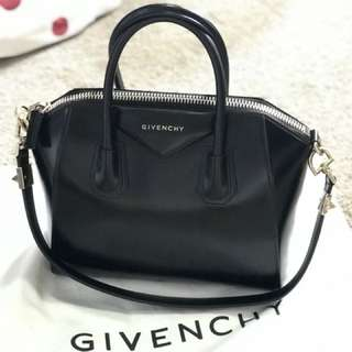 Givenchy small 'Antigona' tote w gold hardware