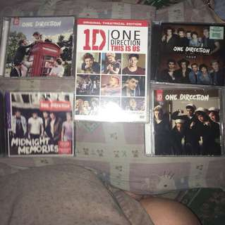 One Direction CD set