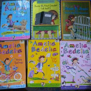 Amelia Bedelia and Junie B. Jones bundle