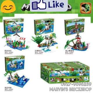 For Sale Minecraft 4in1 Big set Bulding Blocks Toy