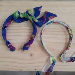 BN Hairband with fabric tie