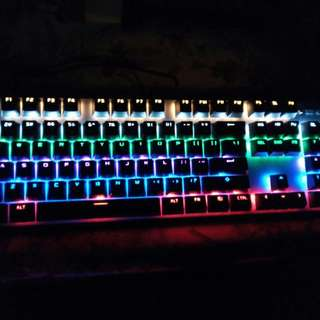 Gaming Combo (Backlit Mechanical Keyboard + CLG Deathadder mouse + LOL large mat)