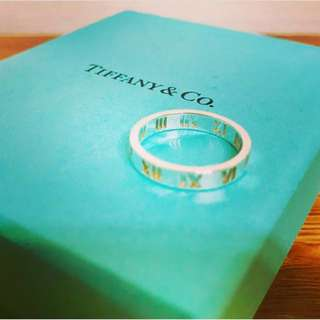 🚚 Tiffany ATLAS™ 純銀 鏤空戒指