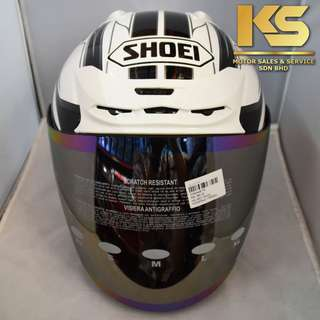 SHOEI J-FORCE 4 MODERNO (WHITE/BLACK)