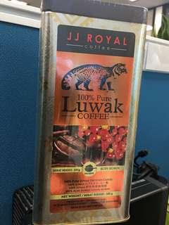Pure Luwak coffee