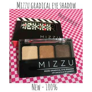 MIZZU GRADICAL EYE SHADOW NATURAL MOCHA