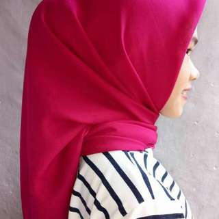 PLAIN hijab/BELLA square
