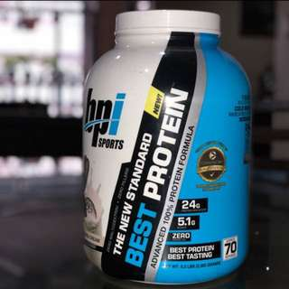 BPI 5lbs cookies and Cream Protein Powder