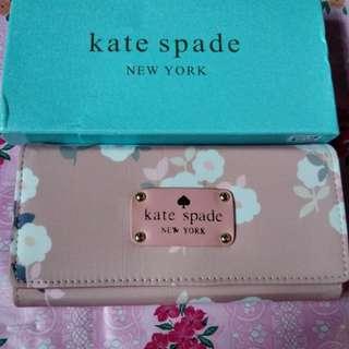 Kate spade long wallet