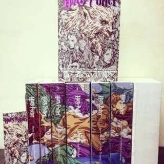 Novel Harry Potter Cover Baru
