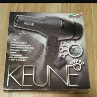 keune professional hairdryer