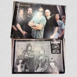 POSTERS NEW Ramones Dream theater size approx big 85x65