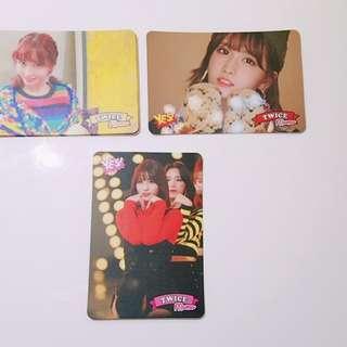 Twice專輯yes card Momo