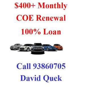 FULL COE Renewal Loan