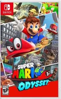 USED Mario Odyssey for Nintendo Switch