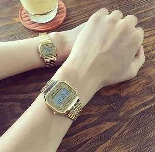 Casio Digital Vintage Couple Watch