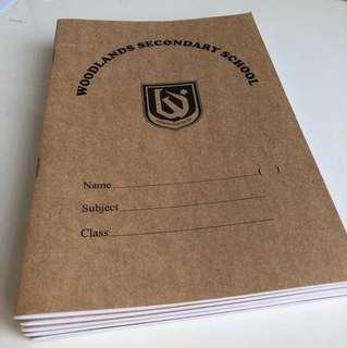 A5 notebook x6