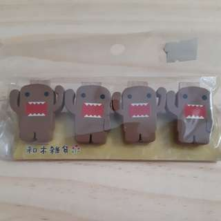 Domokun Wooden Clips (Reserved)