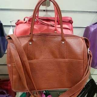 SALE PARISIAN Handbag (reddish brown) for P350