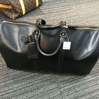 100% Authentic Epi Keepall 55