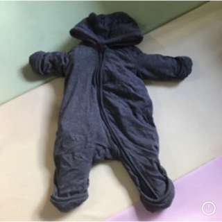 NEWBORN winter fleece suit jumpsuit