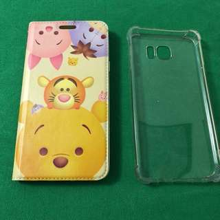 galaxy note 5 機殼case(two cases)兩個