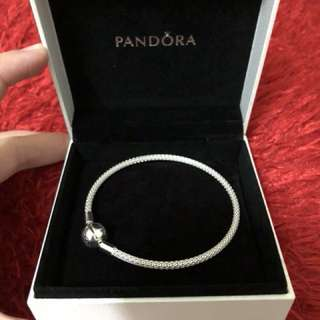 Pandora Mesh Bracelet 19cm Authentic